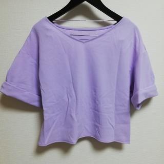 ジーユー(GU)のGU トップス Tシャツ カットソー(カットソー(半袖/袖なし))