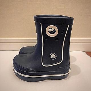 クロックス(crocs)のクロックス 長靴 C6-7 ネイビー(長靴/レインシューズ)