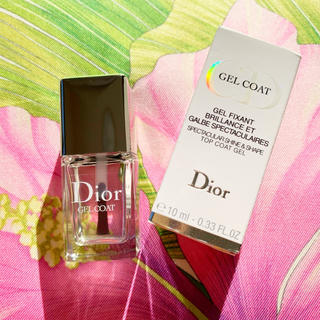 timeless design 34122 d4292 Dior ディオール ジェルコート 速乾性 トップコート