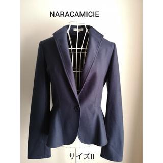 ナラカミーチェ(NARACAMICIE)の美品 NARACAMICIE エレガントジャケット(テーラードジャケット)