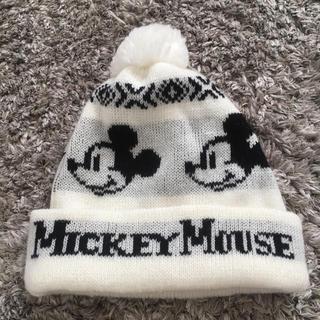 ミッキーマウス(ミッキーマウス)のミッキー ♡Mickey ニット帽 帽子(ニット帽/ビーニー)