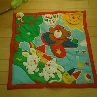ミキハウス(mikihouse)のプレイマット 🎵 size 70×70(その他)