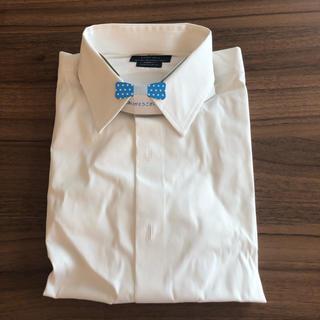 ZARA - ZARA MAN Lサイズ 白カッターシャツ ストレッチ スーパースリムフィット