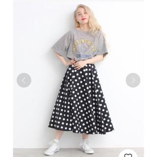 ドットアンドストライプスチャイルドウーマン(Dot&Stripes CHILDWOMAN)のDot&stripes CHILDWOMAN ドットスカート(ロングスカート)
