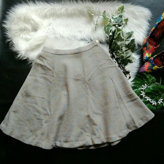 クチュールブローチ(Couture Brooch)の♪couturebrooch♪チェック冬生地スカート♪index♡vis♡グロー(ひざ丈スカート)