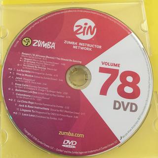 ズンバ(Zumba)のズンバDVD  zin78  (スポーツ/フィットネス)