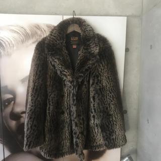 シュプリーム(Supreme)のSUPREME  17AW ×Schott Faux Fur Peacoat(その他)