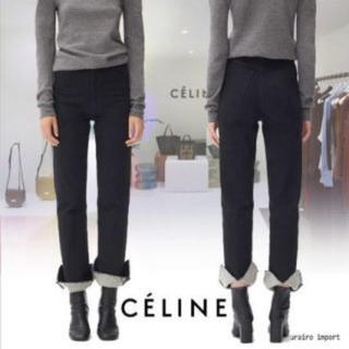celine - セリーヌ ロールアップ パンツ
