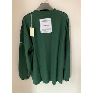 Balenciaga - VETEMENTS インサイドアウト コットンTシャツ