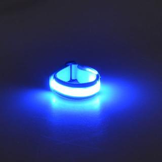 LEDで点灯・点滅するリストバンド(ウォーキング)
