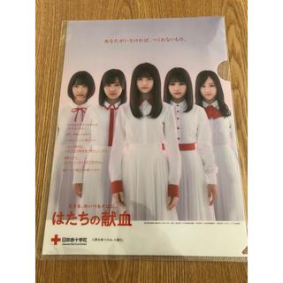 ノギザカフォーティーシックス(乃木坂46)の乃木坂46 はたちの献血 クリアファイル(アイドルグッズ)