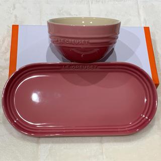 ルクルーゼ(LE CREUSET)の新品未使用 ルクルーゼ  オフロングプレート ライスボウル(食器)