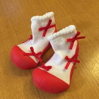 Baby Feet ベビーシューズ  バレリーナレッド(その他)