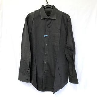 タケオキクチ(TAKEO KIKUCHI)の美品 【タケオキクチ 】 グレー シャツ ワイシャツ クリーニング済み TK(シャツ)