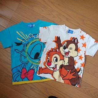 ディズニー(Disney)のディズニーランドTシャツ2枚組 110・120(Tシャツ/カットソー)