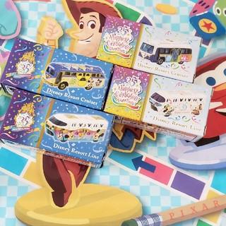 ディズニー(Disney)のディズニー×トミカ/  4つセット(ミニカー)