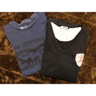 ガス(GAS)のLevi's GAS メンズ 半袖Tシャツ 2着セット(Tシャツ/カットソー(半袖/袖なし))