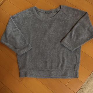 シネマクラブ(CINEMA CLUB)のシネマクラブ  ニットセーター  かなり厚地  グレー  美品(ニット/セーター)