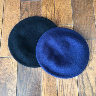 ジーユー(GU)の新品☆  【セット売り】GU ベレー帽(ハンチング/ベレー帽)