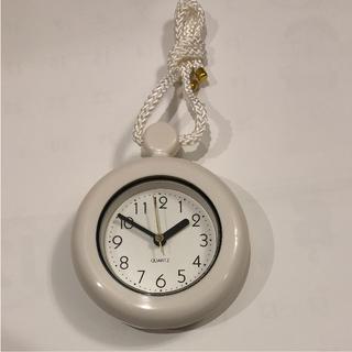 タオル掛け時計(掛時計/柱時計)