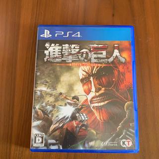 コーエーテクモゲームス(Koei Tecmo Games)のps4ソフト 進撃の巨人(家庭用ゲームソフト)