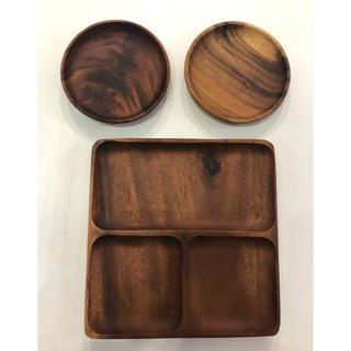 MUJI (無印良品) - 無印用品 / アカシアプレート 丸皿セット