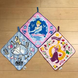 ディズニー(Disney)の新品☆ループ付きタオル☆3枚セット(タオル)
