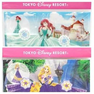 ディズニー(Disney)のディズニープリンセス/ドレスメモ帳  2種類セット(ノート/メモ帳/ふせん)