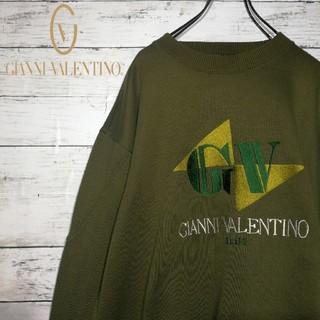 GIANNI VALENTINO - 【90's】GIANNI VALENTINO  ビッグシルエット スウェット