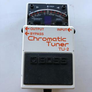ボス(BOSS)のBOSS Chromatic Tuner TU-2(エフェクター)