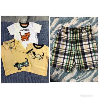 ジンボリー(GYMBOREE)のGYMBOREE Tシャツ パンツ 4点セット(パンツ/スパッツ)