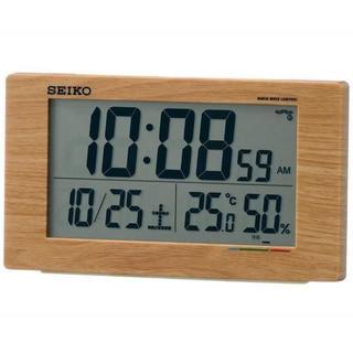 目覚まし時計 電波 デジタル カレンダー(掛時計/柱時計)