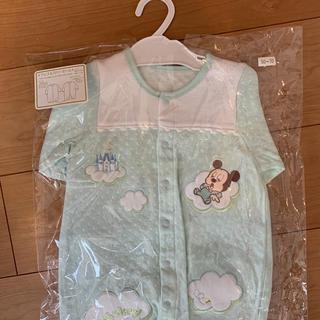 ディズニー(Disney)のベビーミッキー ドレス&カバーオール 新品未使用未開封(カバーオール)