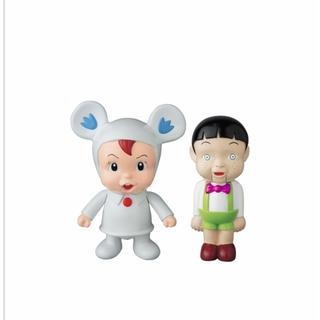 MEDICOM TOY - MEDICOM TOY 魔太郎がくる 切人 & タケシ 人形 ソフビ
