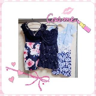 デイジーストア(dazzy store)のキャバドレス 3枚セット ミニドレス(ナイトドレス)
