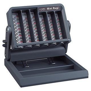 サイズ15.9㎝×5.45㎝ カール事務器 ミニレジ MR-2000(オフィス用品一般)