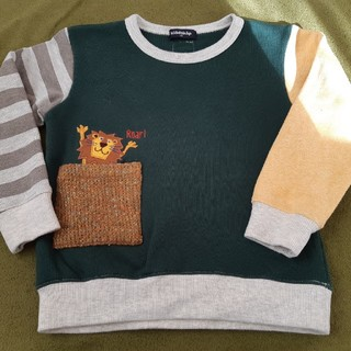 クレードスコープ(kladskap)のクレードスコープ ライオンスウェット110㎝(Tシャツ/カットソー)