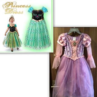 ディズニー(Disney)のprincess👸 👗2点セット👗120㎝(ドレス/フォーマル)