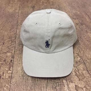 ラルフローレン(Ralph Lauren)の新品  ラルフローレン CAP Dベージュ(キャップ)
