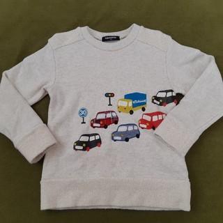 クレードスコープ(kladskap)のクレードスコープ 車 スウェット110㎝(Tシャツ/カットソー)