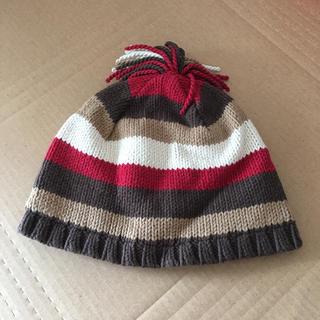 ジンボリー(GYMBOREE)の新品 ジンボリー ニット帽子 2-3歳サイズ(帽子)