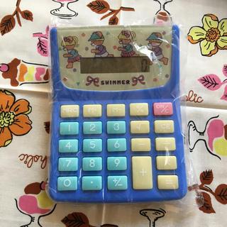 SWIMMER - swimmer ラブリー電卓 ベア