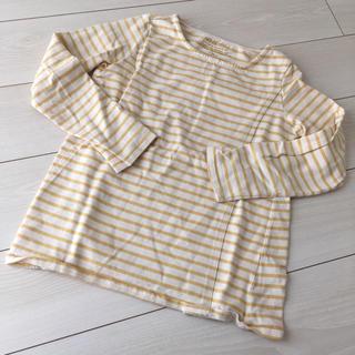 アカチャンホンポ(アカチャンホンポ)のakachanhonpo 授乳服 ボーダーカットソー  M(マタニティトップス)