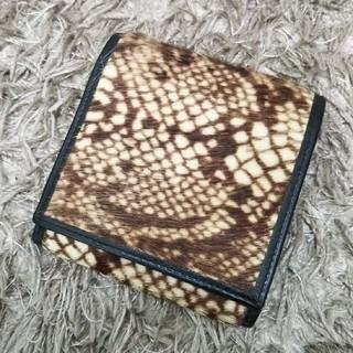 ジャンポールゴルチエ(Jean-Paul GAULTIER)のジャンポール・ゴルチエ  ハラコ  折り畳み 財布(財布)