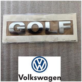 """フォルクスワーゲン(Volkswagen)のVolkswagen 純正正規品エンブレム """"GOLF""""(車外アクセサリ)"""