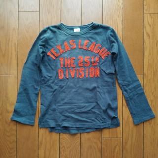 デニムダンガリー(DENIM DUNGAREE)のデニム&ダンガリー 9分袖ロンT 140cm(Tシャツ/カットソー)