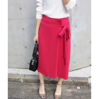 イエナ(IENA)のIENA  カラーラップスカート(ひざ丈スカート)