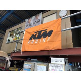 KTM RACING/フラッグ/タペストリー/150*90(その他)
