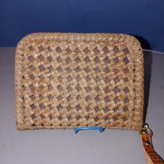国産山葡萄石畳み編み小サイズ財布(財布)