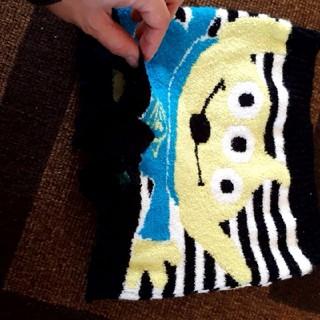 ディズニー(Disney)の毛糸のパンツ スカパン 制服下に ホットパンツ ミニオンズ(パンツ/スパッツ)